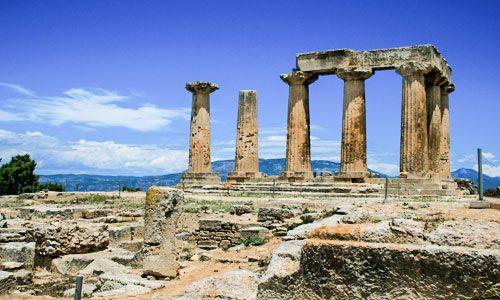 ANCIENT CORINTH - LIMOBUS.GR